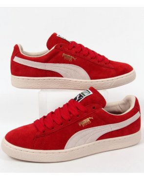 Puma States Nm Trainers Red/off White