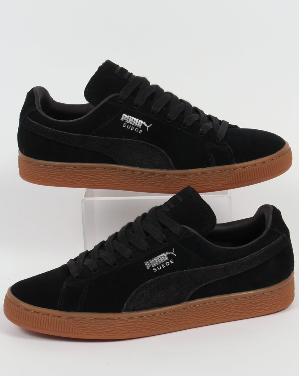 puma suede citi trainers black shoes sneakers classic mens. Black Bedroom Furniture Sets. Home Design Ideas