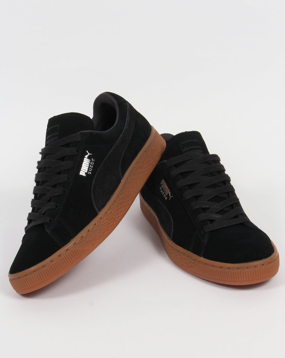 Puma Suede Citi Trainers Black,shoes,sneakers,classic,mens