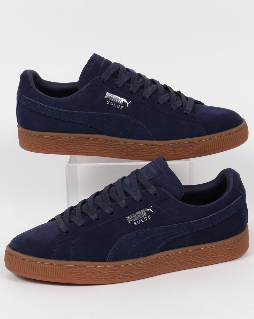 Puma Suede Citi Trainers Navy,shoes,sneakers,classic,mens