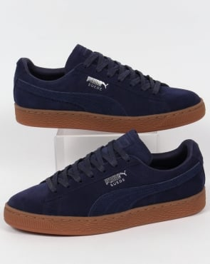 Puma Suede Citi Trainers Navy