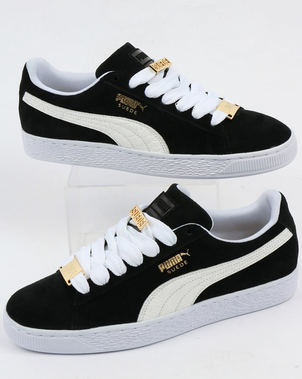 buy popular 57be6 a308a Puma Suede Classic Bboy Fabulous Trainers Black/white
