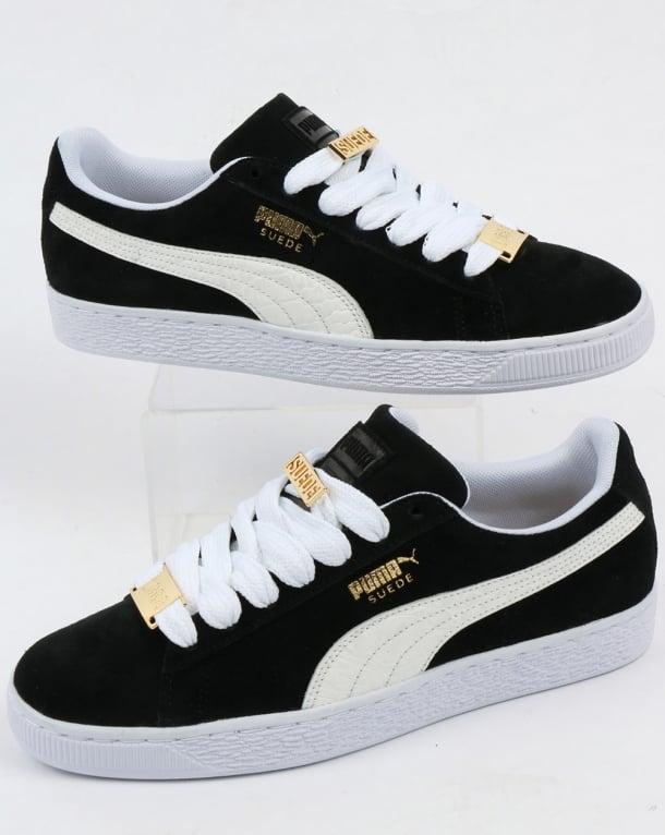 Puma Suede Classic Bboy Fabulous Trainers Black/white