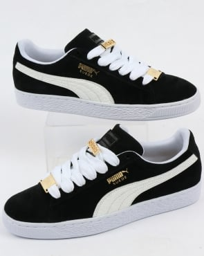 Puma Suede Classic Bboy Fabulous Trainers Black/white