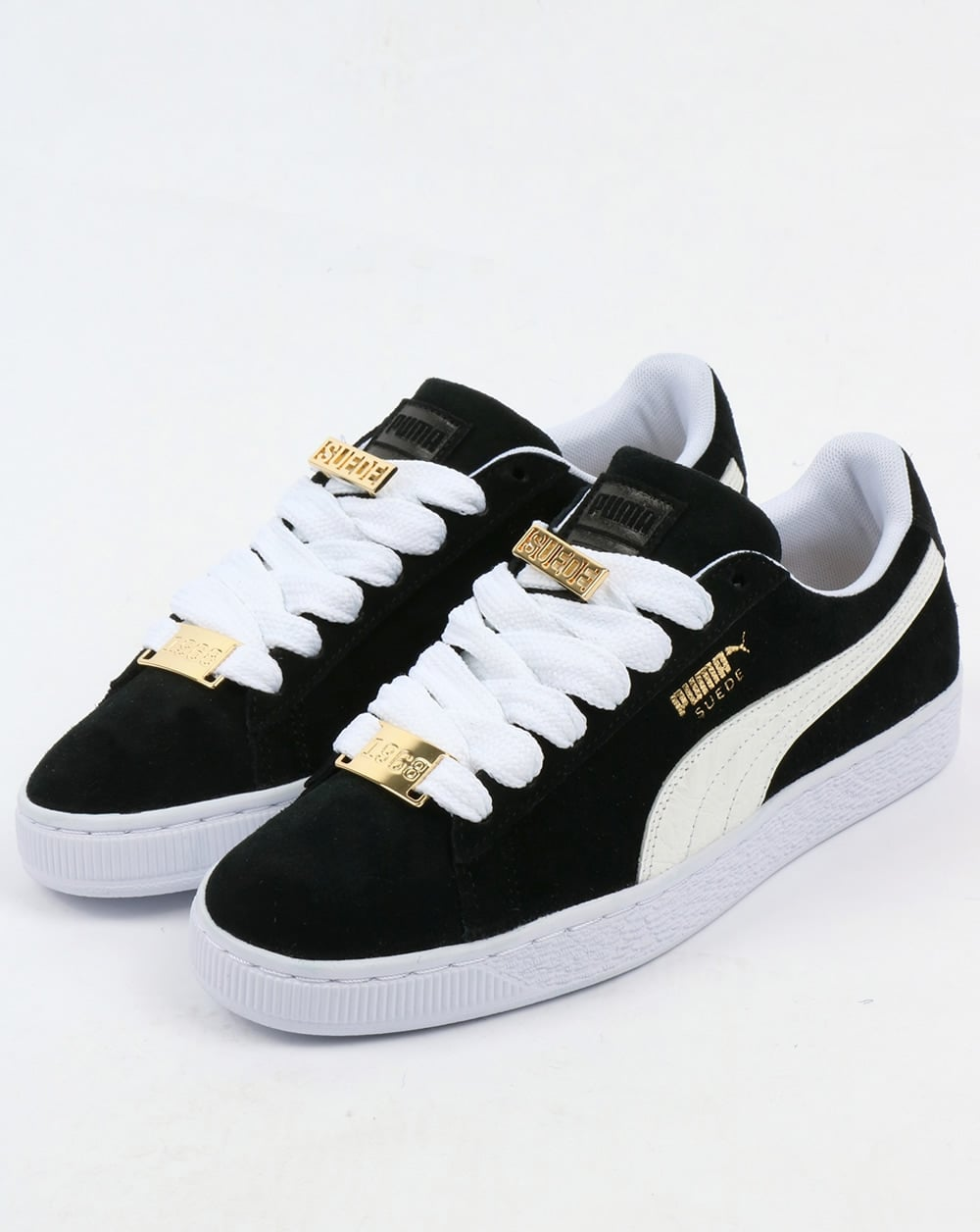 buy popular 49c5e 79afc Puma Suede Classic Bboy Fabulous Trainers Black/white