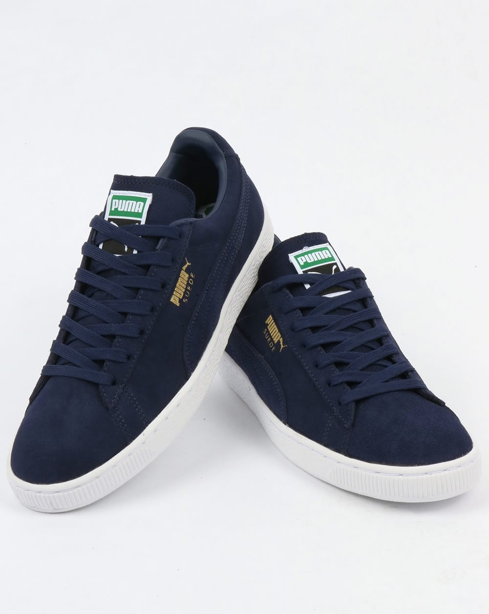 promo code 5a56b 71efa Puma Suede Classic Trainers all Navy
