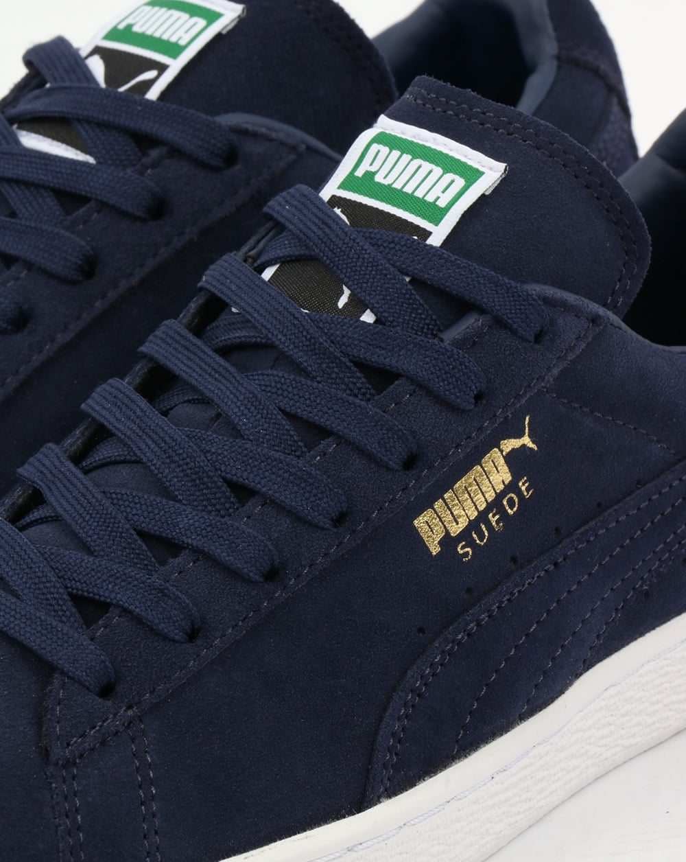 promo code fc2af 57963 Puma Suede Classic Trainers all Navy