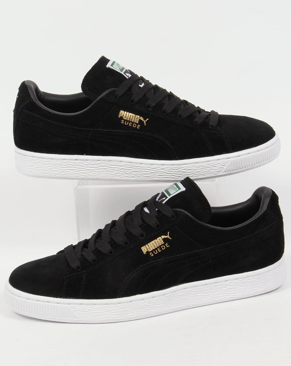 Puma Suede Classic Trainers Black/black