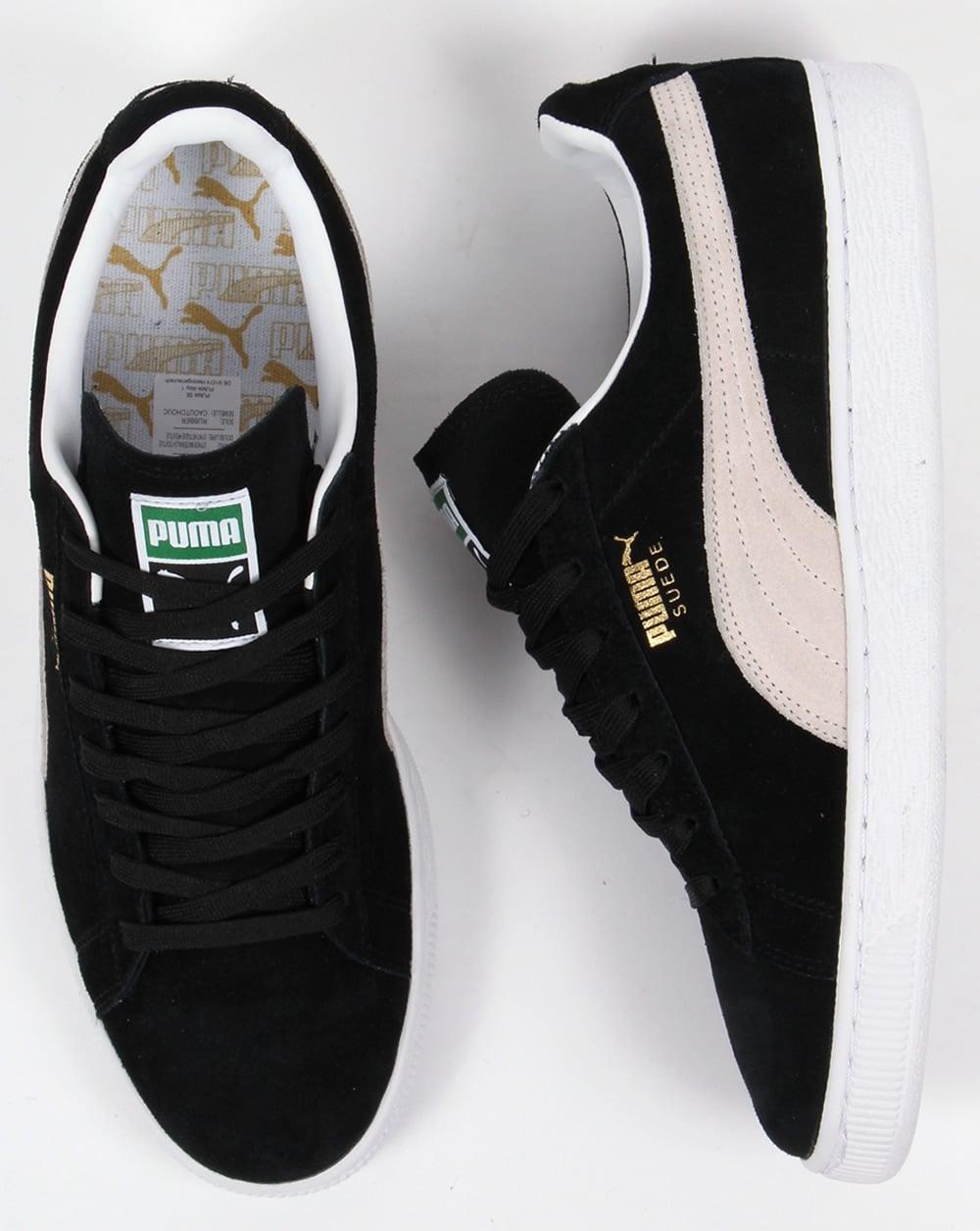 black n white pumas