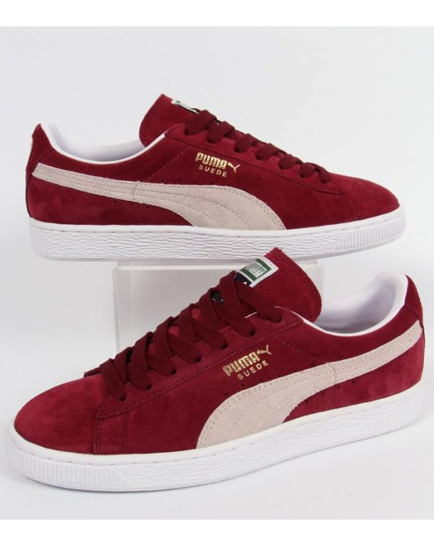 quality design 0e22f b9354 Puma Suede Classic Burgundy wearpointwindfarm.co.uk