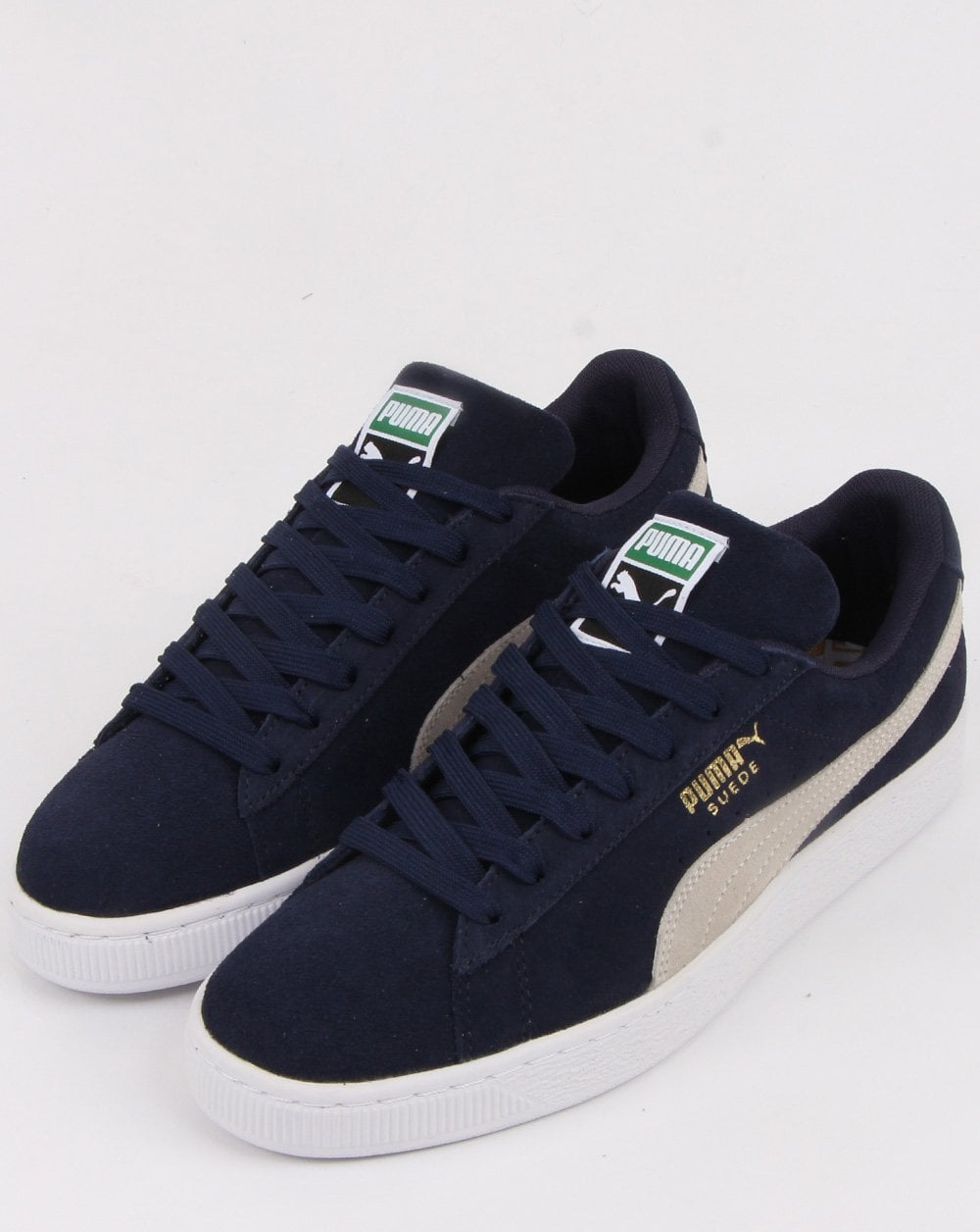 Puma Suede Classic Trainers Navy/white