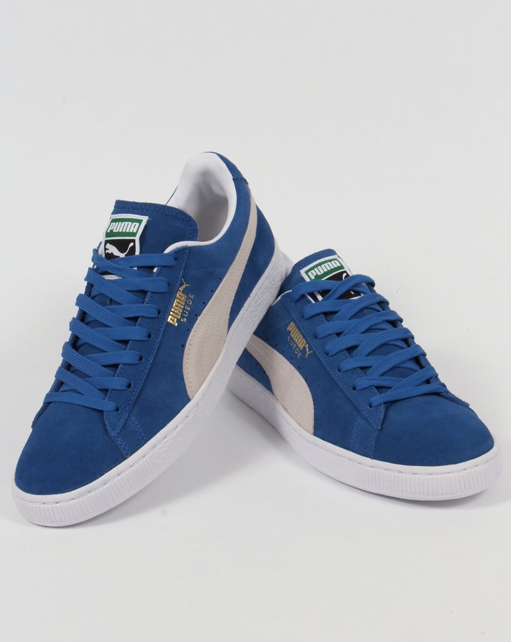 e30560d66c1 Puma Suede Classic Trainers Olympia Blue/White,shoes,archive,originals