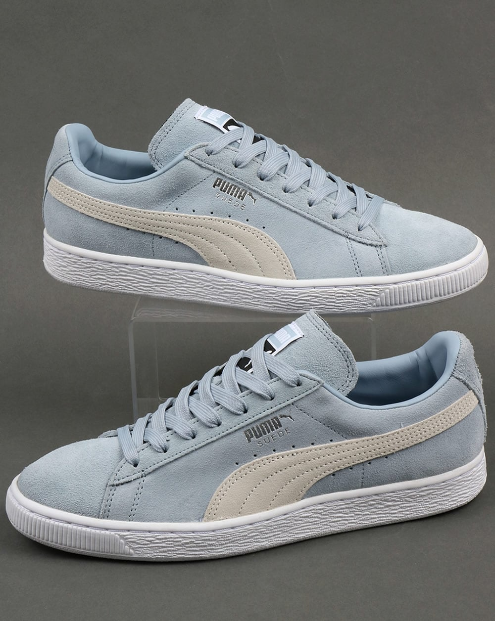 c020a096e15 Puma Suede Classic Trainers Sky Blue/White,shoes,archive,originals