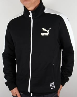 Puma T7 Track Top Black/white