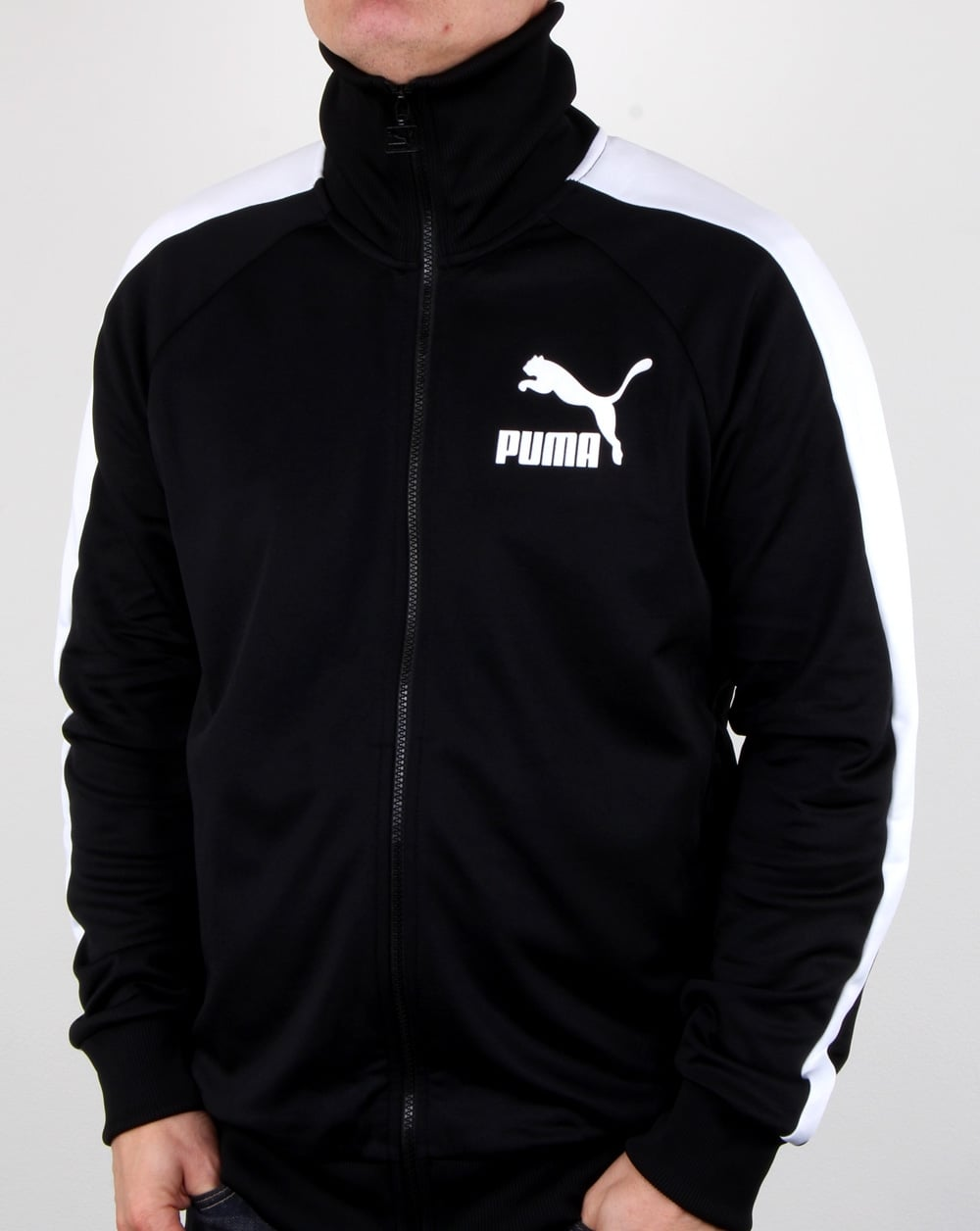 07e88d0f616e Puma Puma T7 Vintage Track Jacket Black white