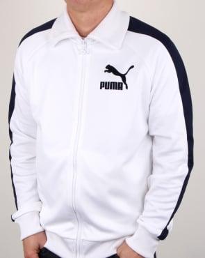 Puma T7 Vintage Track Jacket White/Navy