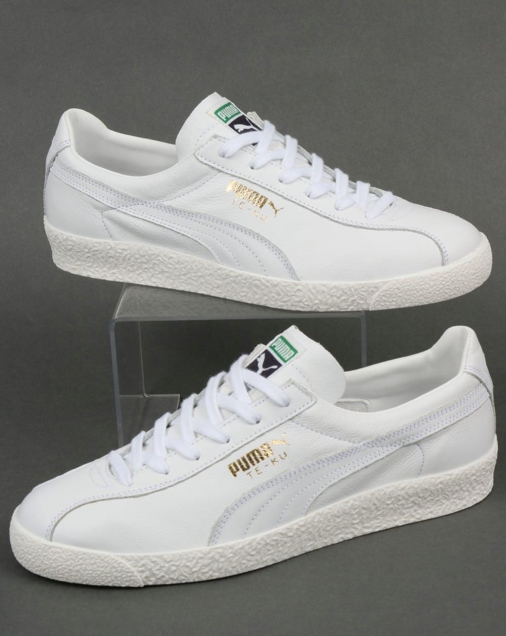 d3d3228f5e2a64 Puma Puma Te-ku Core Trainers White