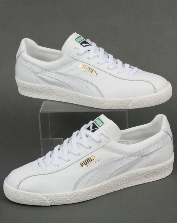 Puma Te-ku Core Trainers White