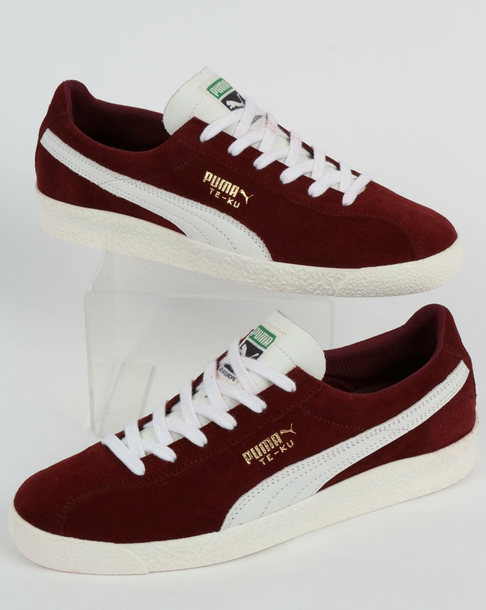 new styles 880f9 3a9c9 Puma Te-ku Prime Trainer Pomegranate/White