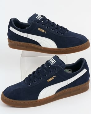 Puma TK Indoor Heritage Trainers Navy