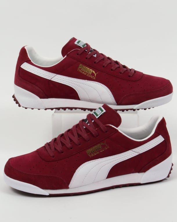 Puma Trimm Quick OG Elite Trainers Burgundy/White