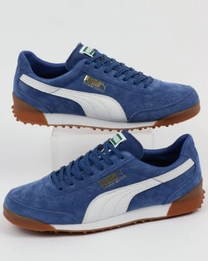 Puma Trimm Quick Trainers Deep Royal/White