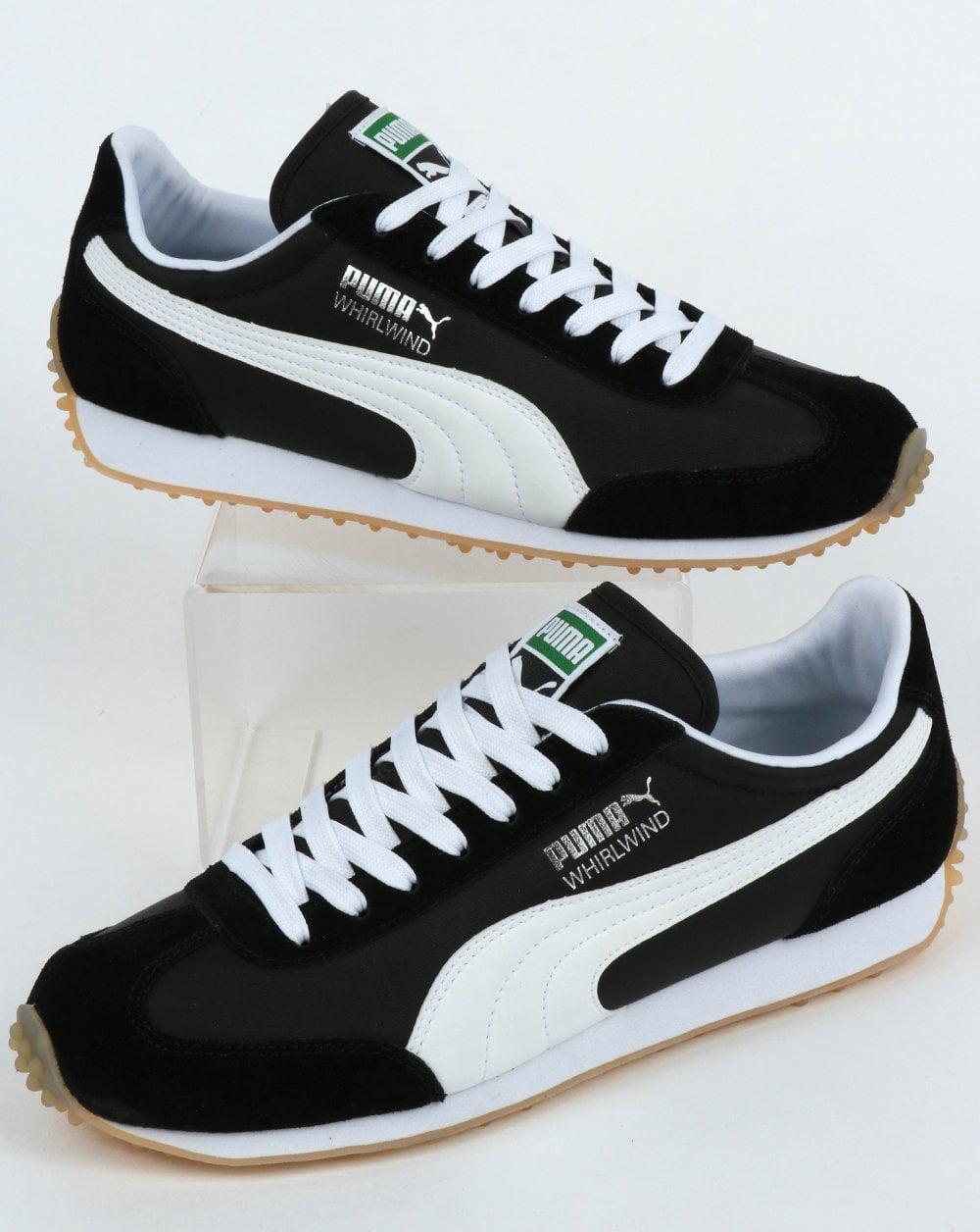 Puma Whirlwind Classic Trainer Black/White/Silver,running