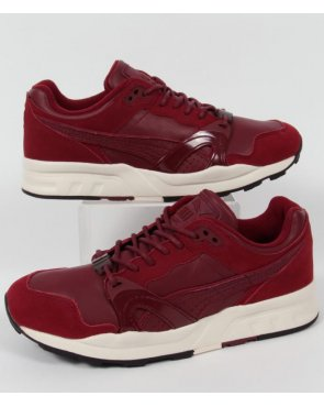 Puma Xt1 Citi Series Trainers Burgundy