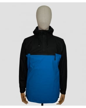 Rains Anorak Black/blue