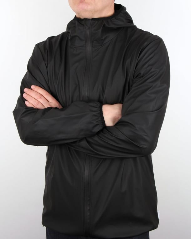 Rains Base Jacket Black
