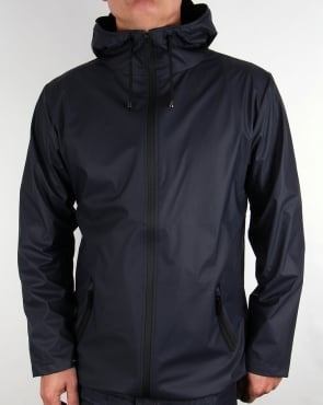 Rains Breaker Jacket Navy