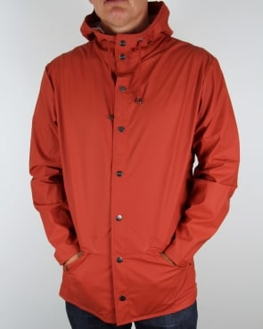 Rains Jacket Rust