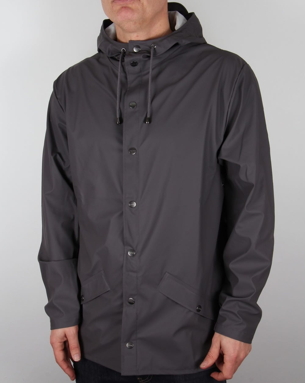 Rains Jacket Smoke,rainproof,coat,rubberised,parka,mens