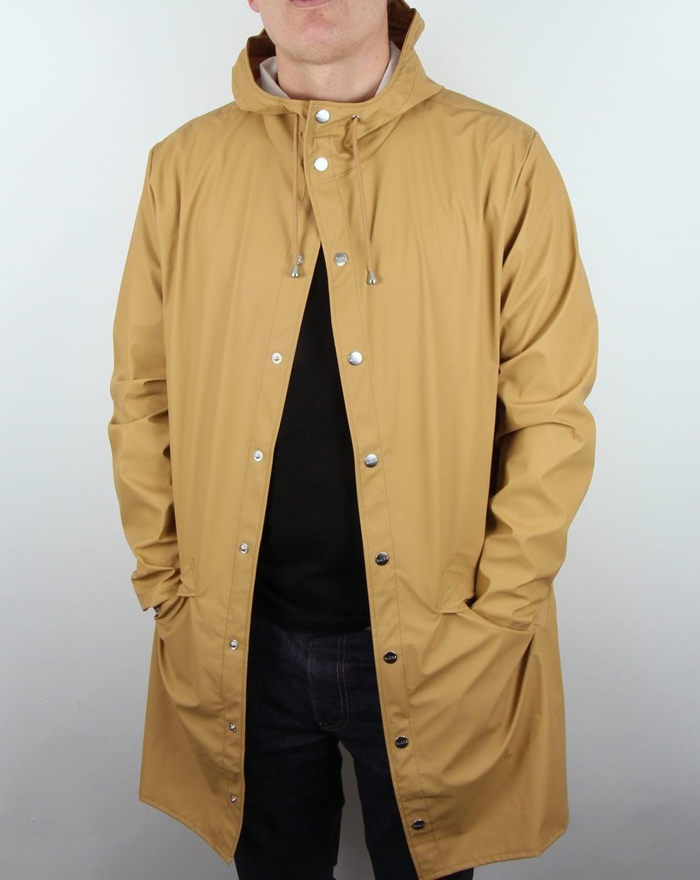 1be0ca1c Rains Long Jacket Khaki,rainproof,mac,coat,waterproof,mens
