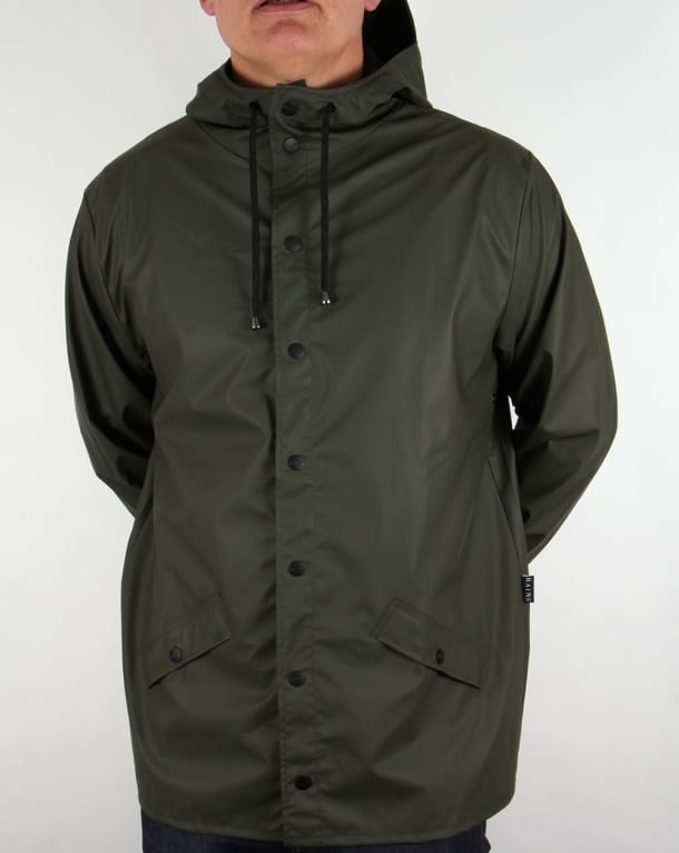 Rains Mac Jacket Green