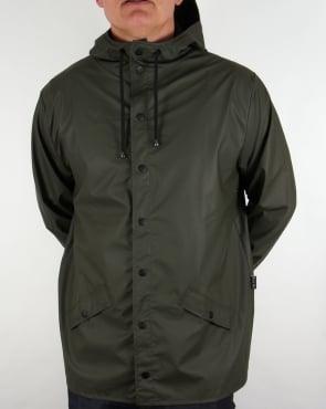 Rains Mac Jacket Green