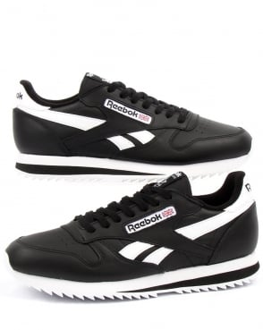 Reebok Cl Ripple Leather Black/white