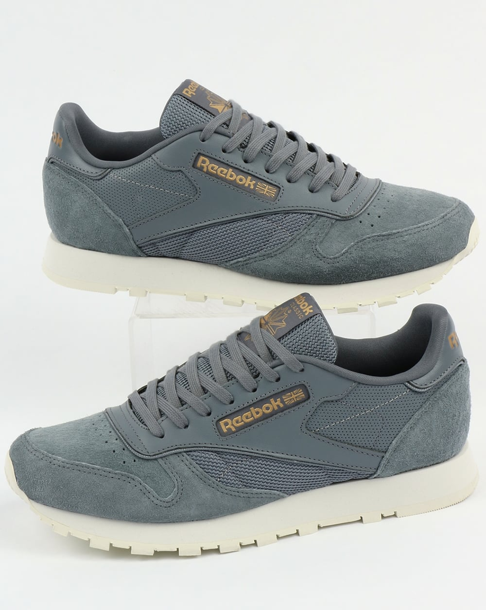 2d2a8d93e4a Reebok Reebok Classic Leather ALR Trainers Asteroid Dust Chalk