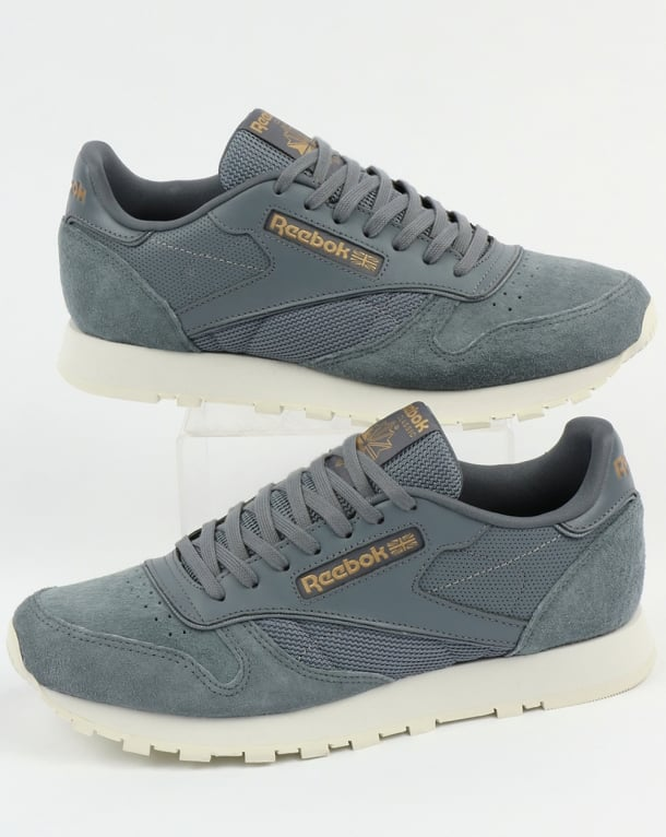 Reebok Classic Leather ALR Trainers Asteroid Dust/Chalk