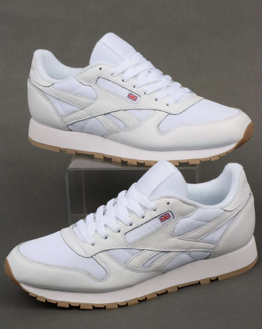 Reebok Reebok Classic Leather ESTL Trainers White a9bb22a5f