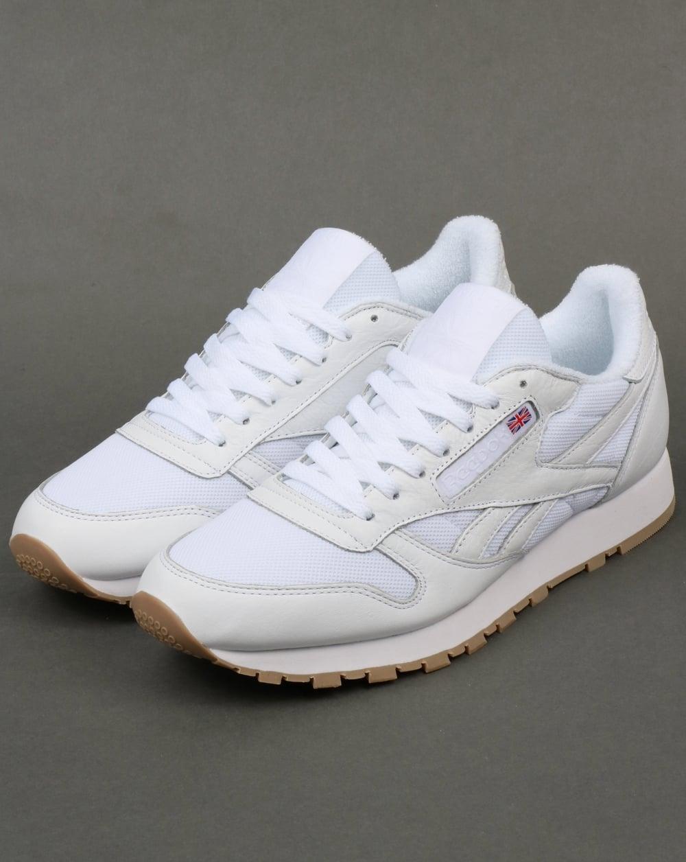 Reebok Classic Leather ESTL Trainers White afbfdb69a