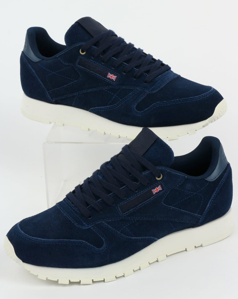 1fe4fd8761d2e1 Reebok Reebok Classic Leather MCC Trainers Blue Note Chalk