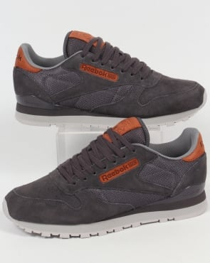 Reebok Classic Leather OL Trainers Ash Grey/Steel