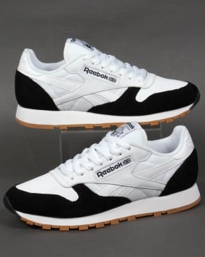 Reebok Classic Leather Perfect Split Trainers White/Black