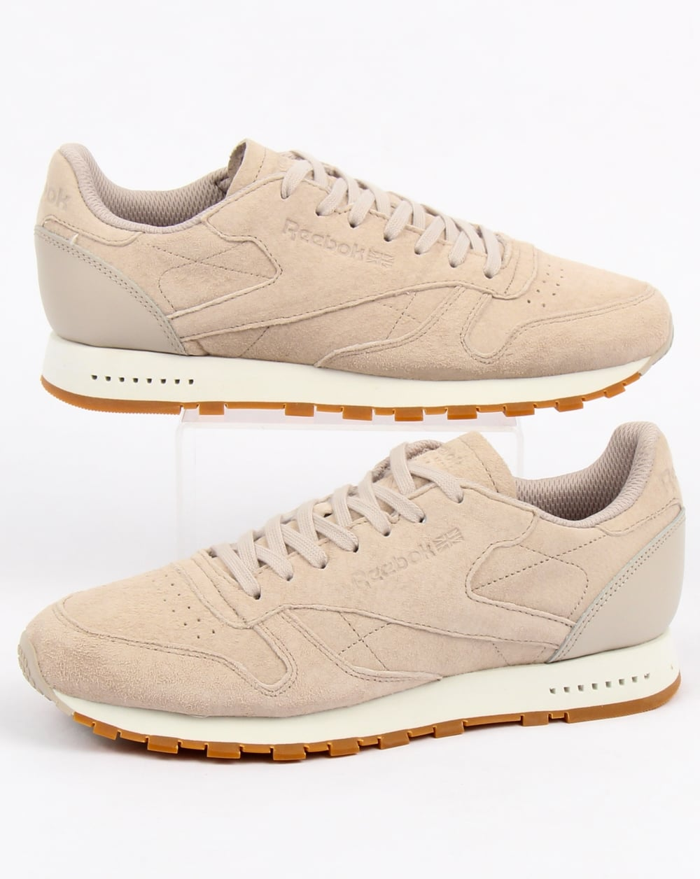 Reebok Reebok Classic Leather Sg Trainers Sandstone chalk 38263130a509