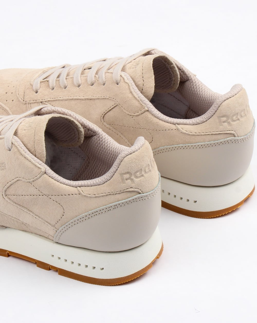0c8cebcf622ed5 Reebok Classic Leather Sg Trainers Sandstone chalk