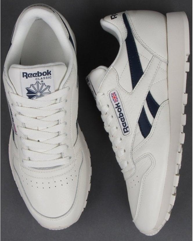 white reebok trainers