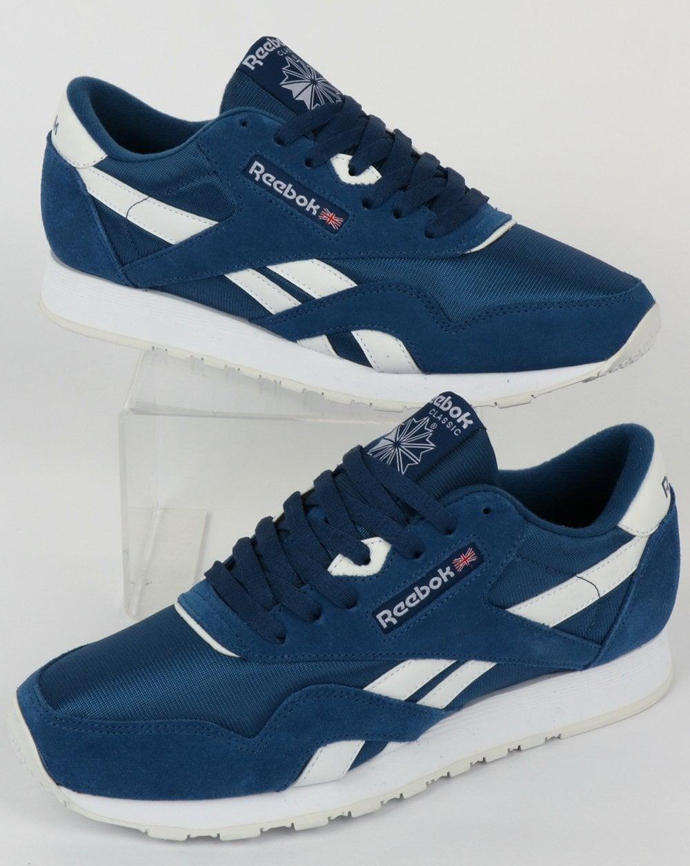 reebok classic trainers blue Online
