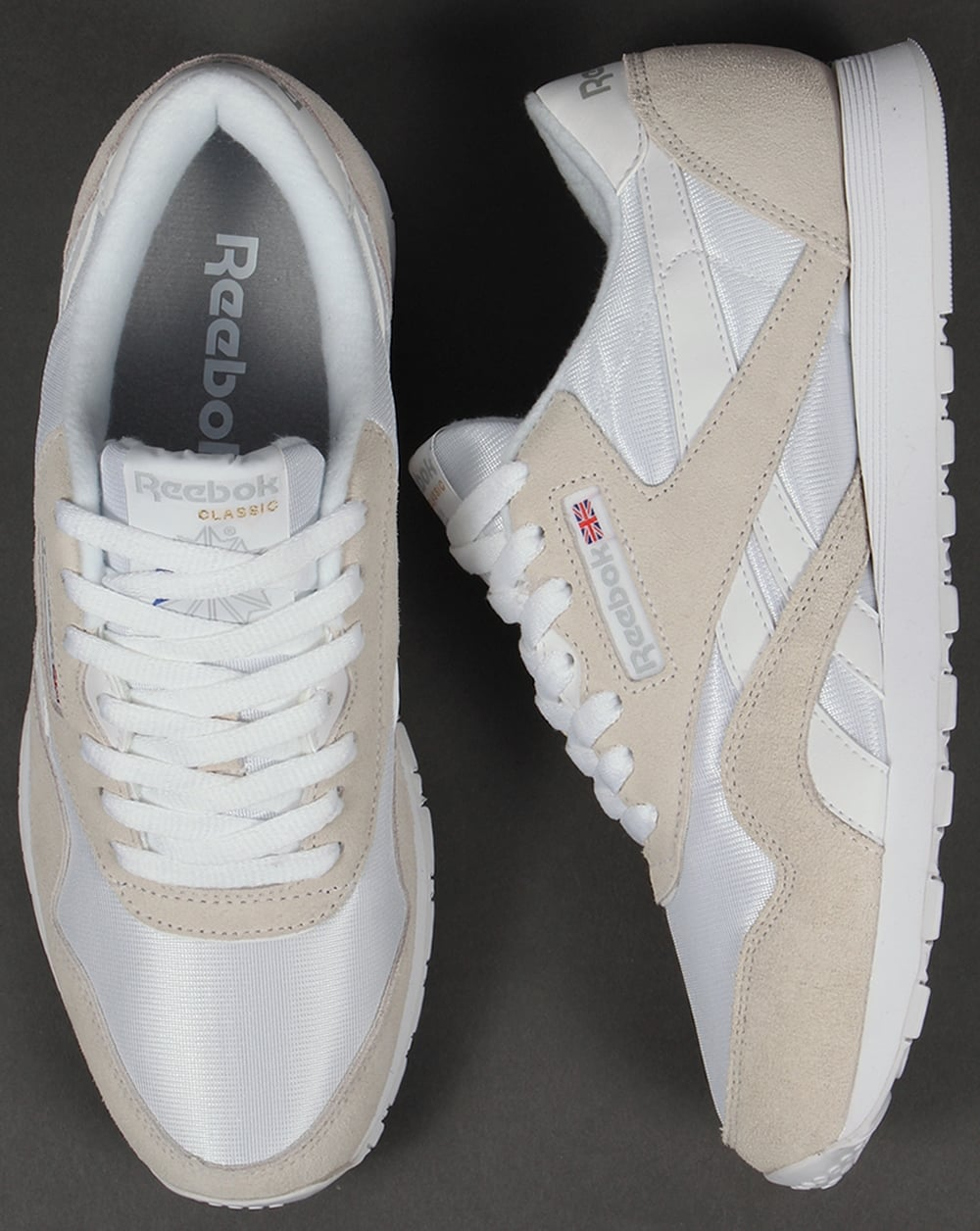 reebok classic white light grey Pusmun