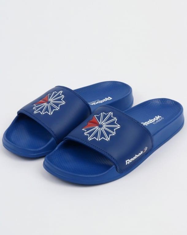 Reebok Classic Slides Royal Blue